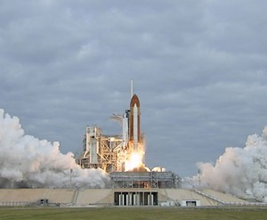 Space Shuttle Endeavour Blast Off